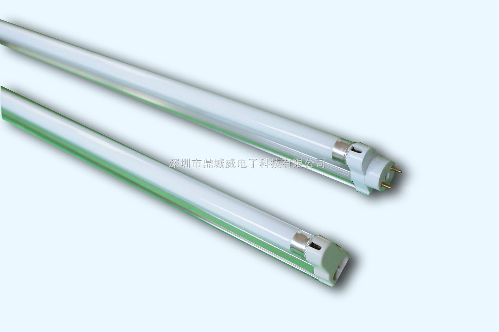 管中管节能灯的结构采用的是内外管双管设计,内管是类似t5管的灯管,外